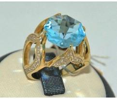 Уникальное авторское женское кольцо art: 70207