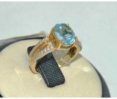 Уникальное авторское женское кольцо art: 70210