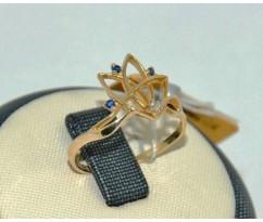 Уникальное авторское женское кольцо art: 70175