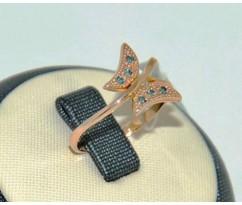 Уникальное авторское женское кольцо art: 70213