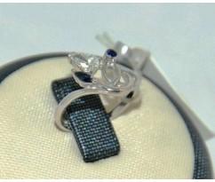 Уникальное авторское женское кольцо art: 70214
