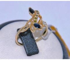 Уникальное авторское женское кольцо art: 70216