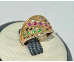 Уникальное авторское женское кольцо art: 70188