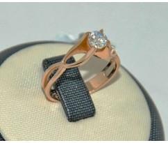 Уникальное авторское женское кольцо art: 70190