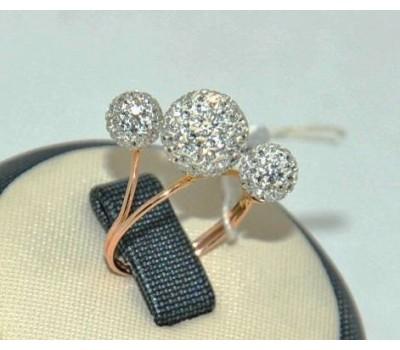 Уникальное авторское женское кольцо art: 70192