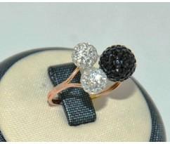 Уникальное авторское женское кольцо art: 70193