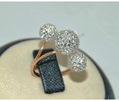 Уникальное авторское женское кольцо art: 70197