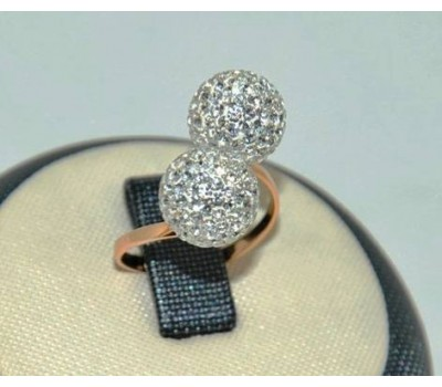 Уникальное авторское женское кольцо art: 70199