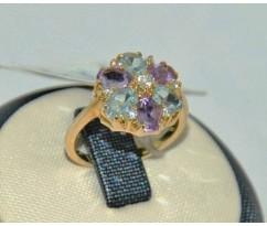 Уникальное авторское женское кольцо art: 70220
