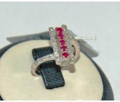 Уникальное авторское женское кольцо art: 70229