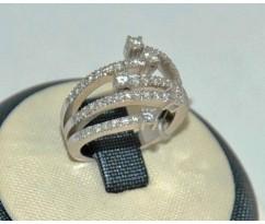 Уникальное авторское женское кольцо art: 70233