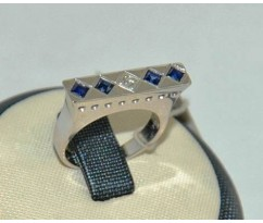 Мужское эксклюзивное кольцо art: 70248