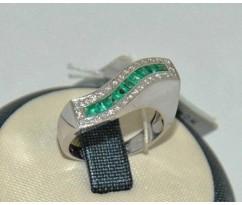 Уникальное авторское женское кольцо art: 70234