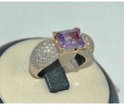 Уникальное авторское женское кольцо art: 70235