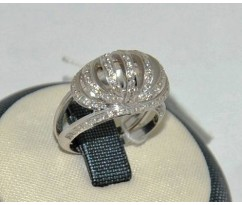 Уникальное авторское женское кольцо art: 70236
