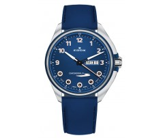 Часы Edox Chronorally-S Day-Date 84301 3BUCBU BUBEB