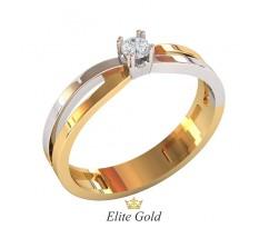 Кольцо для помолвки (выбор камня) артикул: 0503