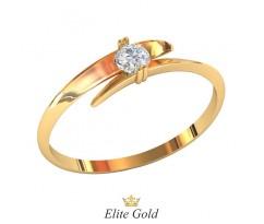 Кольцо для помолвки (выбор камня) артикул: 0518