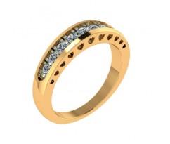 Женское кольцо с камнями артикул: 5034
