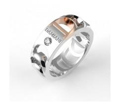 Кольцо в стиле бренда Дамиани с камнем артикул:5040