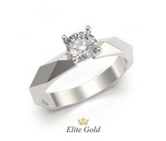 Кольцо для помолвки в форме ромбов артикул: 5141
