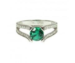 Кольцо для помолвки с 40 бриллиантами артикул 5238