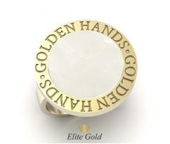 Кольцо Golden Hands круглое с камнем артикул: 5467