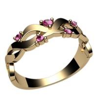 Помолвочное кольцо, ручная работа индивидуальное артикул: 2379
