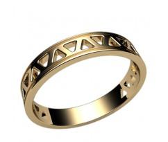 Помолвочное кольцо, ручная работа индивидуальное артикул: 2392