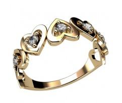 Помолвочное кольцо, ручная работа индивидуальное артикул: 2407