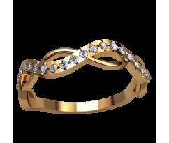Помолвочное кольцо, ручная работа индивидуальное артикул: 2515