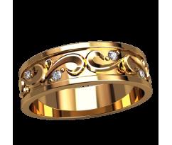 Помолвочное кольцо, ручная работа индивидуальное артикул: 2530