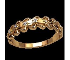Помолвочное кольцо, ручная работа индивидуальное артикул: 2533