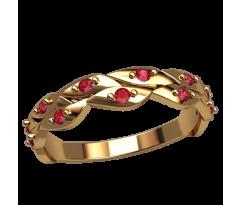 Помолвочное кольцо, ручная работа индивидуальное артикул: 2549