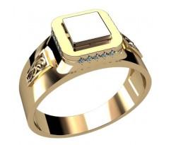 Кольцо для мужчин качественной, ручная работа артикул: 3033