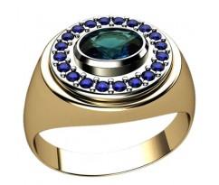 Кольцо для мужчин качественной, ручная работа артикул: 3035
