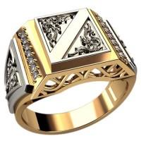 Кольцо для мужчин качественной, ручная работа артикул: 3090