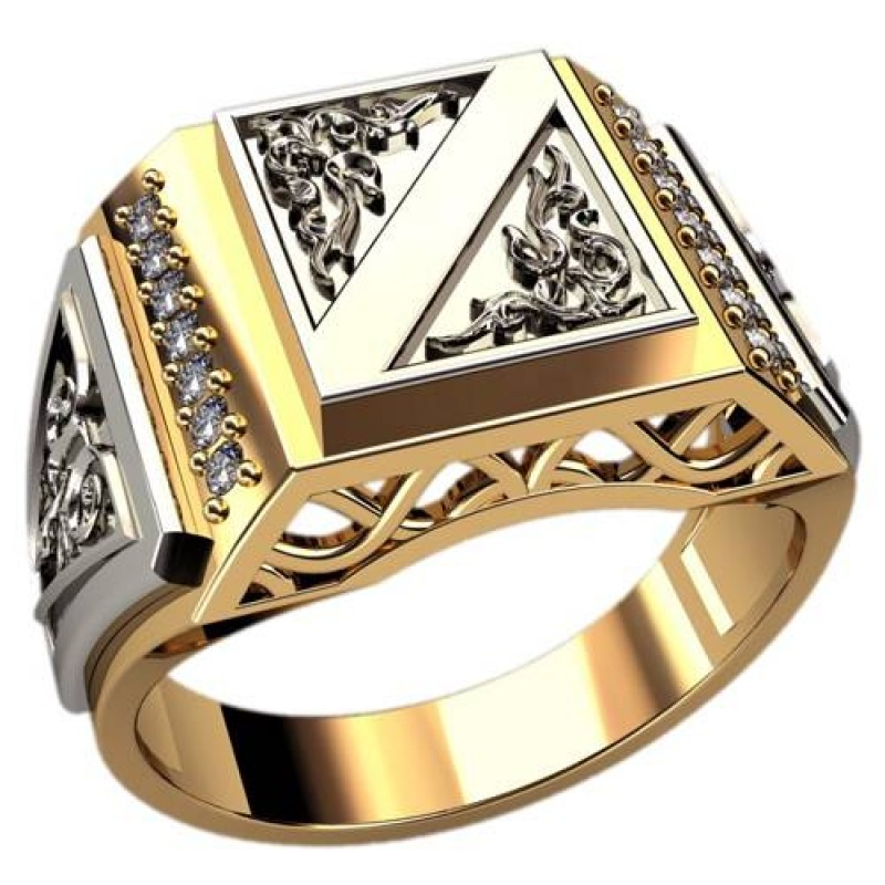 Подкатегория. Золотой мужской перстень, ручная работа. . Цена за 1 грамм золота с работой 850грн