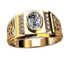 Кольцо для мужчин качественной, ручная работа артикул: 3098