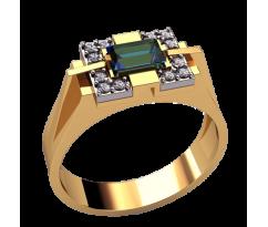 Кольцо для мужчин качественной, ручная работа артикул: 3135