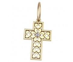 Крест (ладанка) авторская, ручная работа артикул: 5029