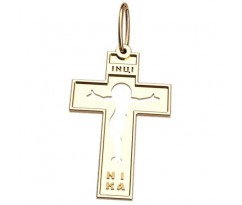 Крест (ладанка) авторская, ручная работа артикул: 5039