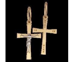 Крест (ладанка) авторская, ручная работа артикул: 5071