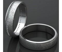 Кольца на свадьбу парные MBL1075