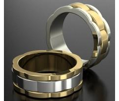 Кольца на свадьбу парные MBL1202