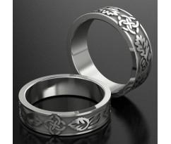 Кольца на свадьбу парные MBL1204
