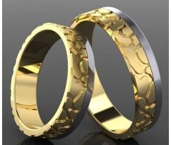 Кольца на свадьбу парные MBL2030
