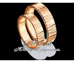 Кольца обручальные парные артикул: 411061D