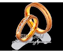 Кольца обручальные парные артикул: 4121171D
