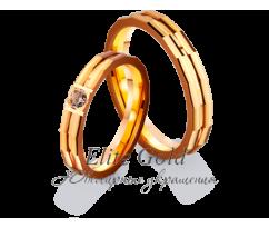 Кольца обручальные парные артикул: 4121176D